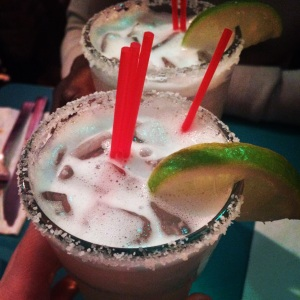 I refueled with some margaritas that evening. Did you know it was national margarita day?!