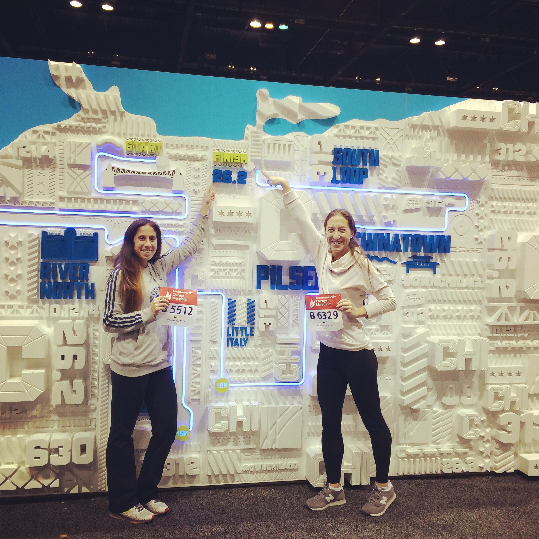 Chicago Marathon Recap Dani Sturtz - Chicago marathon map